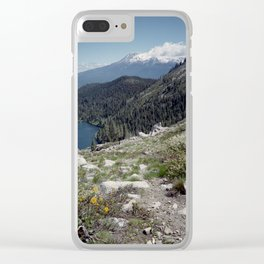 Mt Shasta Clear iPhone Case
