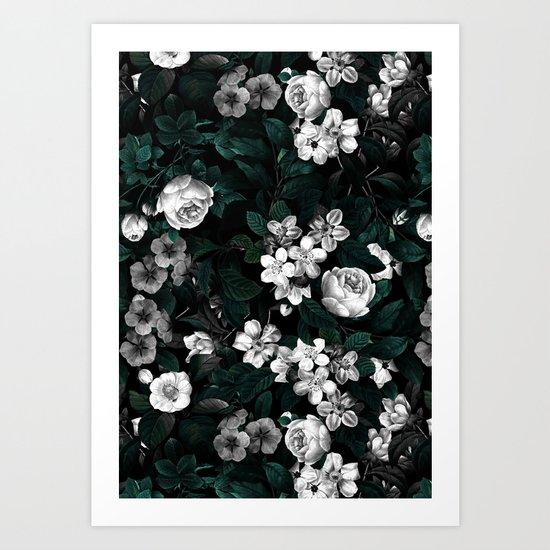 Botanical Night Art Print