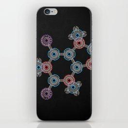 Caffeinated Circuitry Molecule iPhone Skin