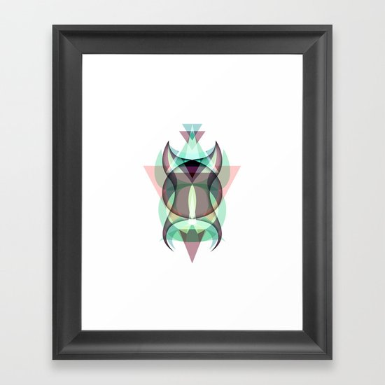 Fiction Framed Art Print
