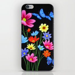 Wildflowers-3 iPhone Skin