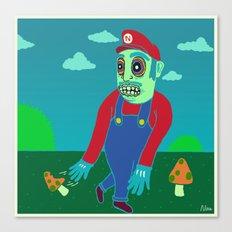 Shroomario Canvas Print
