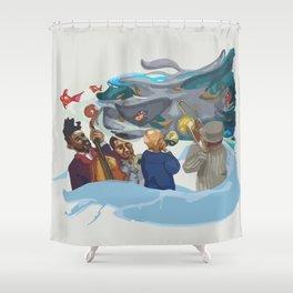 Jazz band Shower Curtain