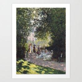 The Parc Monceau Art Print