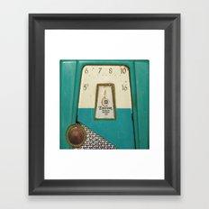 Vintage Transistor Radio  Framed Art Print
