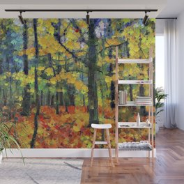 Autumn Woods Wall Mural