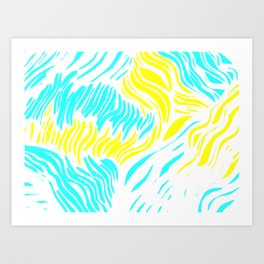 Animal Tropical Print Art Print
