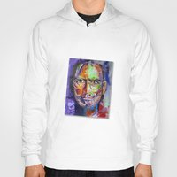 steve jobs Hoodies featuring steve jobs by yossikotler