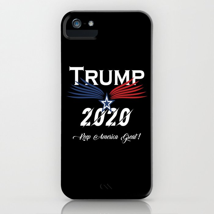trump 2020 keep america great ! iphone case