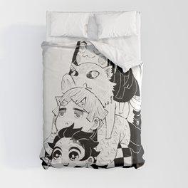 Demonslayer Kimetsu No Yaiba Comforters