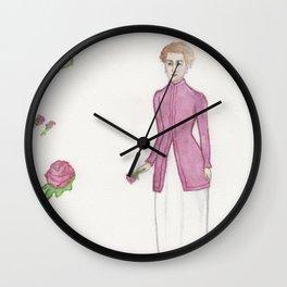 Madame La Rose Wall Clock