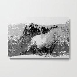 Experimental Photography#16 Metal Print