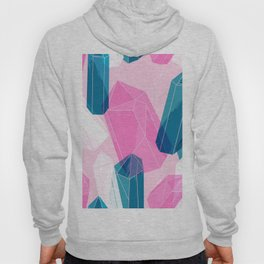 WITCHY HAND DRAWN CRYSTAL PATTERN Hoody