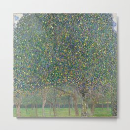 Gustav Klimt - Pear Tree Metal Print