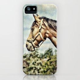 Horse Profile iPhone Case