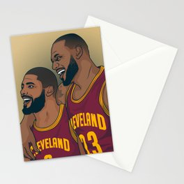 Lebron and Kyrie Stationery Cards