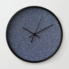 Glittery Night Wall Clock