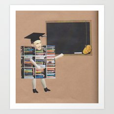 The English Teacher Art Print
