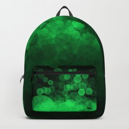 Green Spotted Backpack