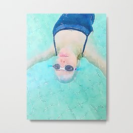 Carefree Summer Metal Print