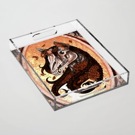 Saturnine Acrylic Tray
