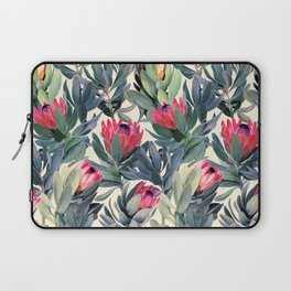Painted Protea Pattern Laptop Sleeve