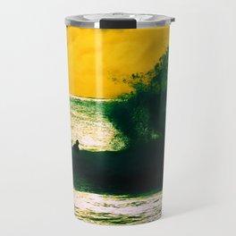 Atardecer en los Tiempos de Agua Travel Mug