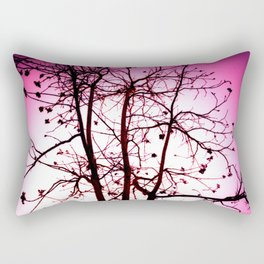 La vie in Rose Rectangular Pillow