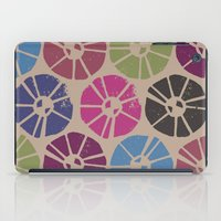 contemporary iPad Cases featuring CONTEMPORARY FLOWERS by HAUS OF DEVON