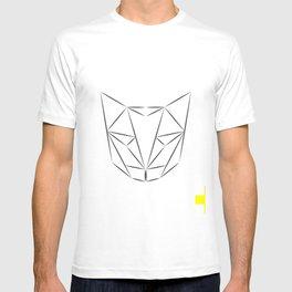 Cat Geometric T-shirt