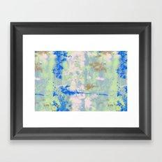 Tie Dye Framed Art Print