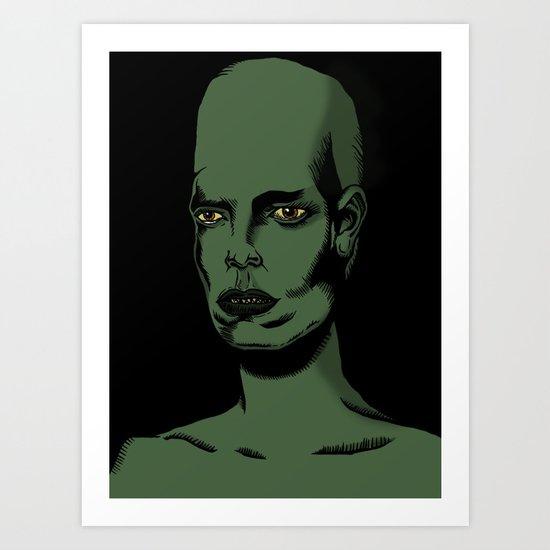 L'extraterrestre Art Print