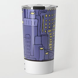 NEW YORK Card Travel Mug