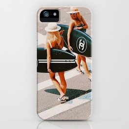 HIT THE BEACH iPhone Case