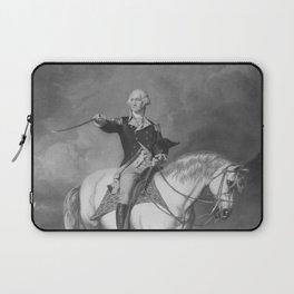 Washington Receiving A Salute At Trenton Laptop Sleeve