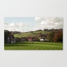 Nepcote Green, Findon, West Sussex Canvas Print