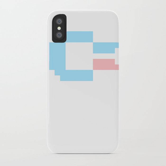 Pastel Pixel C64 iPhone Case