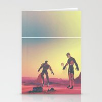 giants Stationery Cards featuring Giants  by @slimesunday