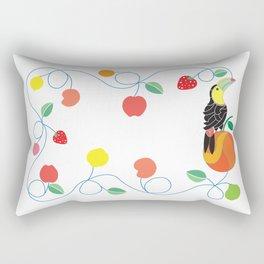 Kitchen toucan Rectangular Pillow