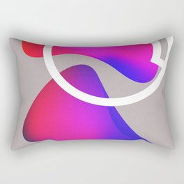 abstract fluid shapes no1 Rectangular Pillow