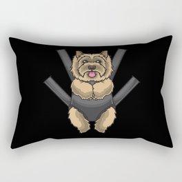 Cairn Terrier funny Gift idea Rectangular Pillow