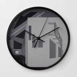 Violet Pills Wall Clock