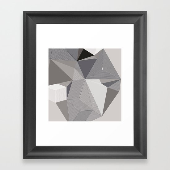 Origami III Framed Art Print