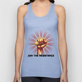 Join the Resistance Unisex Tank Top