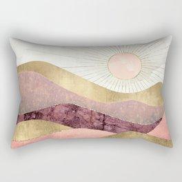 Blush Sun Rectangular Pillow
