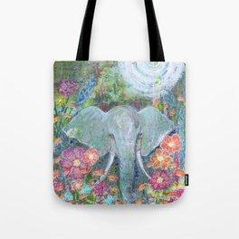 Sara's Elephant Tote Bag
