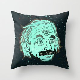 Genius Throw Pillow