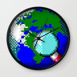 Vintage Globe Wall Clock
