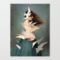 Canvas Prints featuring Metamorphosis by Christian Schloe