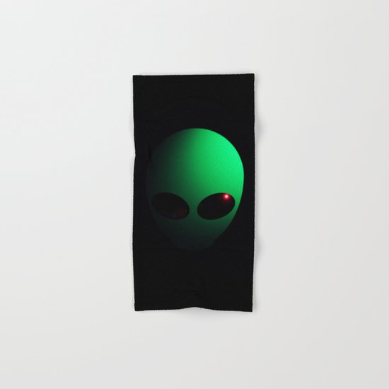 Alien Hand & Bath Towel